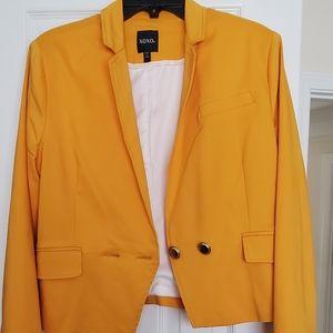 Golden Yellow blazer